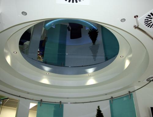 Specchio a soffitto